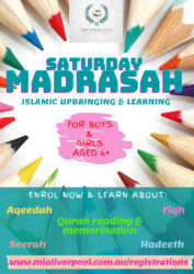 Children's Madrasah/ Young Adults College @ MIA Liverpool Islamic Centre