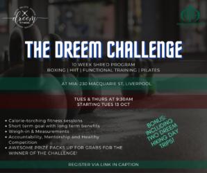 The Dreem Challenge: 10-week Shred Program @ MIA Liverpool Islamic Centre