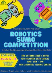 Robotics Sumo Competition (Boys) @ MIA Liverpool Islamic Centre