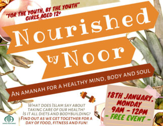 Nourished by Noor - Girls Youth Holiday Program @ MIA Liverpool Islamic Centre