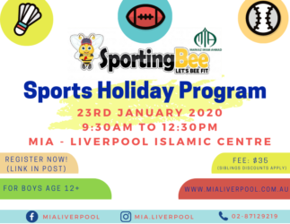 Sporting Bee - Sports Holiday Program for Boys